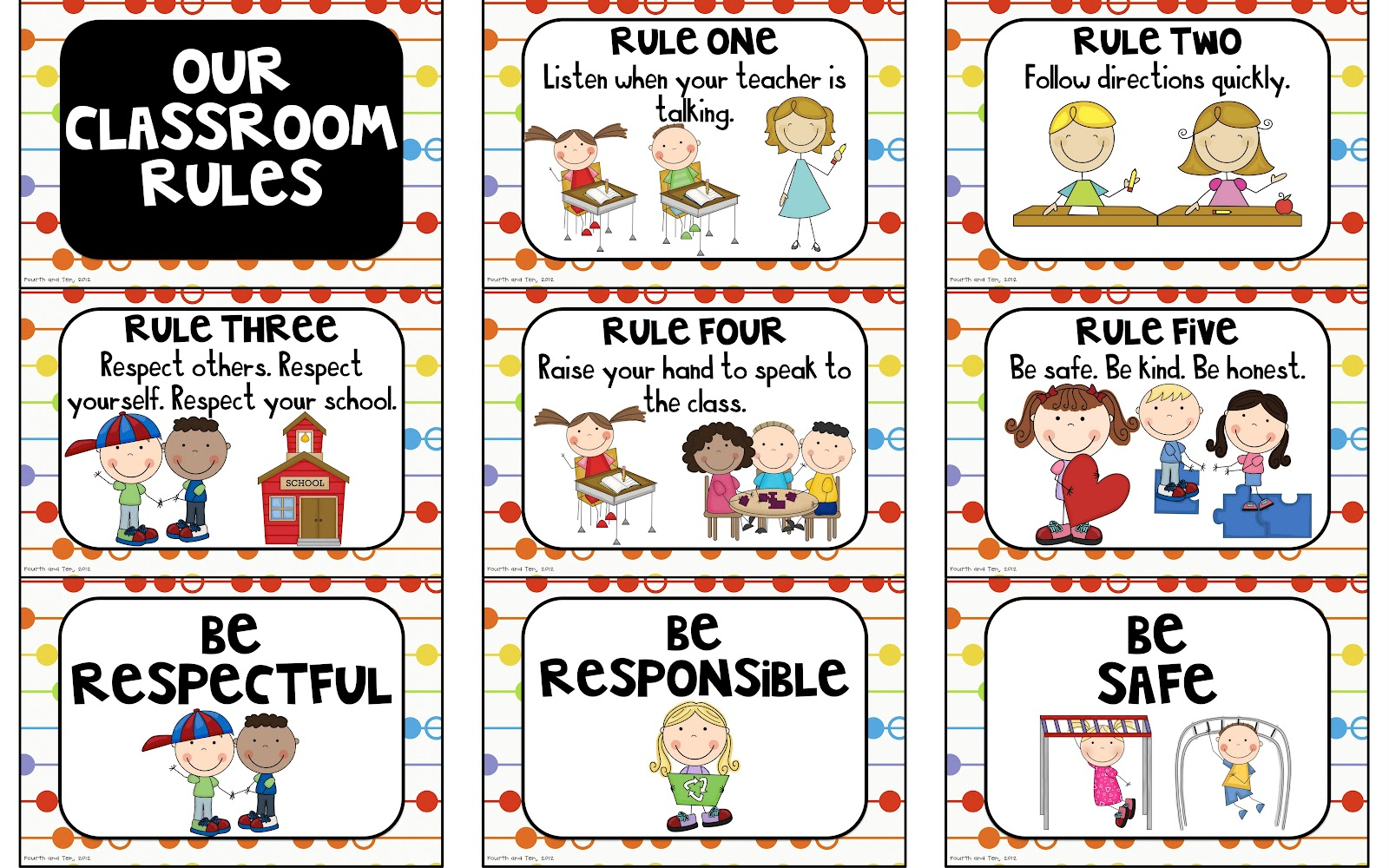 Elementary Classroom Rules ~ Classroom rules and consequences elementary school mr toole
